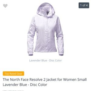 Women's North face resolve 2 jacket